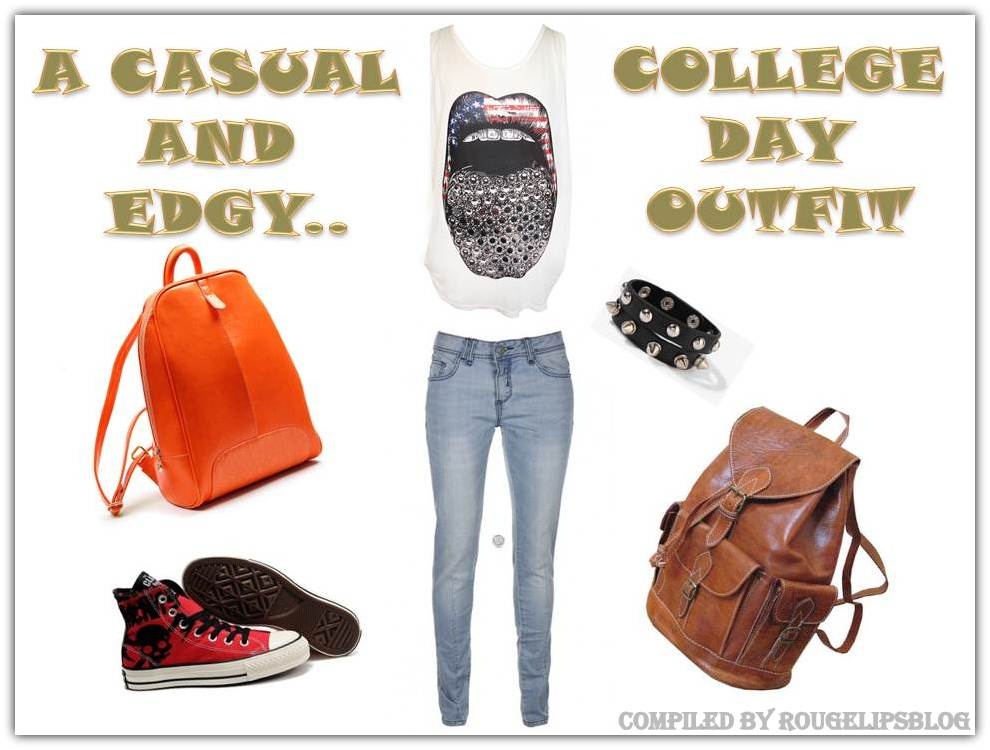 Look of the Week: Casual College Day!!!