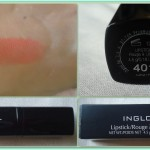 Review: Inglot Lipstick Matte in the shade # 401