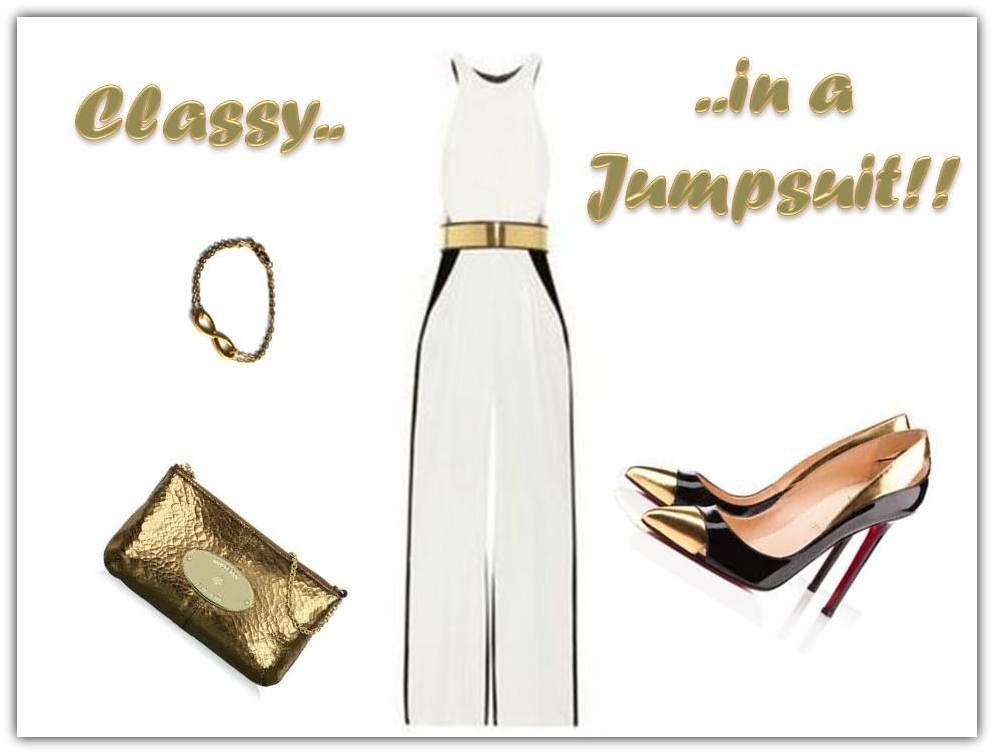 Look Of The Week: Classy in a Jumpsuit!!