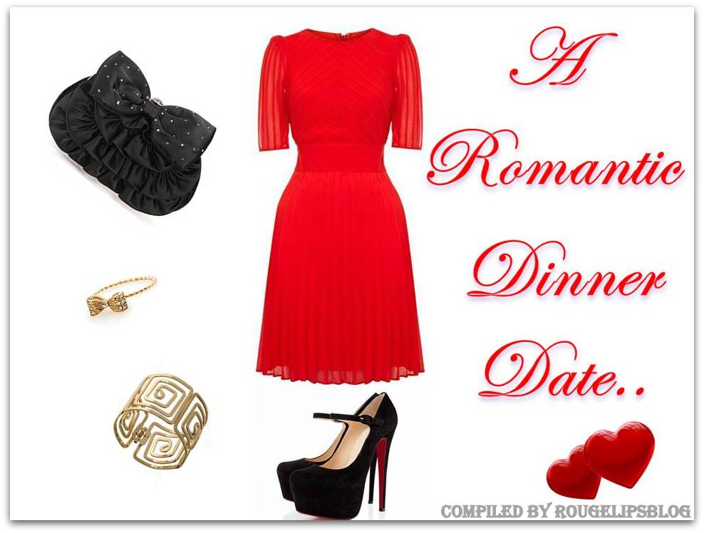 Look Of The Week: A Romantic Dinner Date