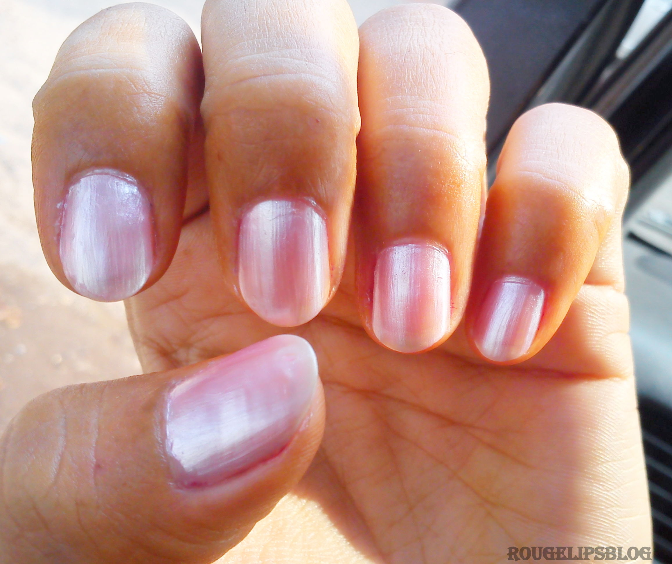Graphic Nail Art With Maybelline Color Show Nail Paints Rougepouts