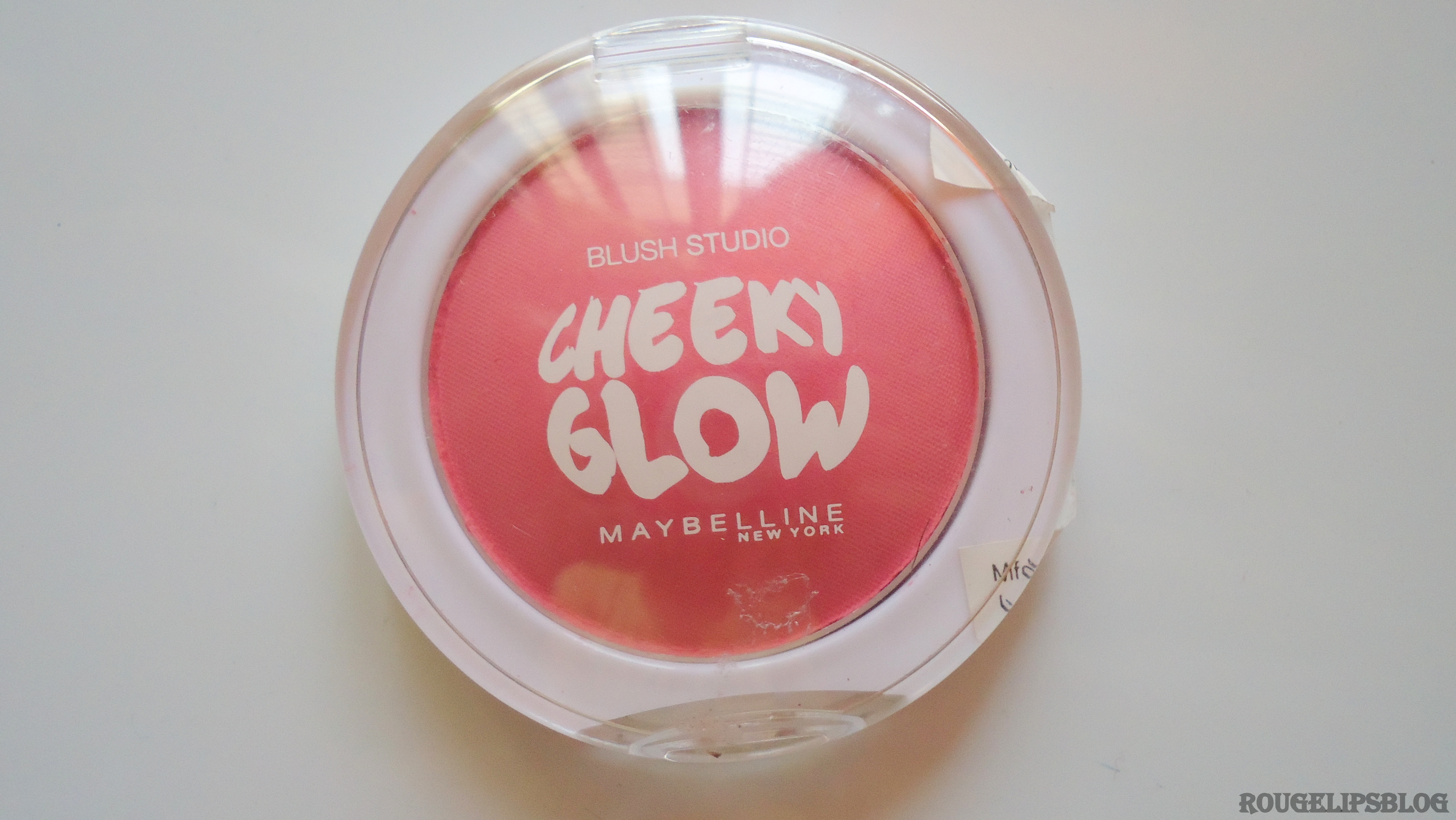 Maybelline Blush Studio Cheeky Glow Blush in the Shade Fresh Coral!