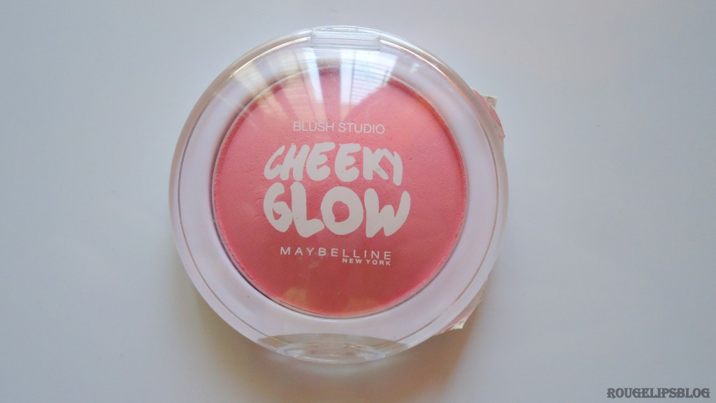 Maybelline Blush Studio Cheeky Glow Blush in the Shade Peachy Sweetie!!