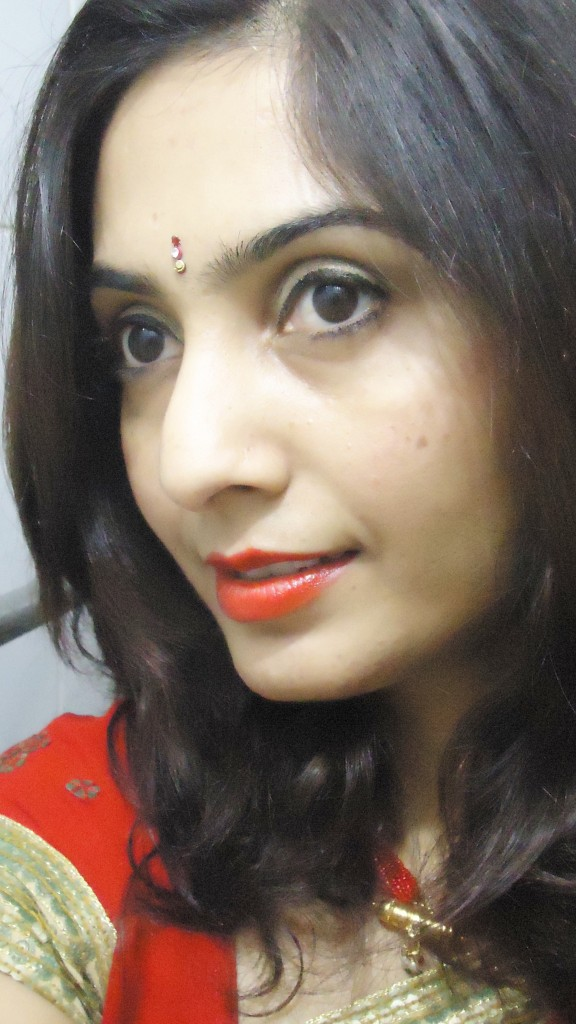 Oufit Of The Day: Karvachauth Reds!!