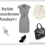 Look Of The Week: Stylish Monochrome Mondays!!