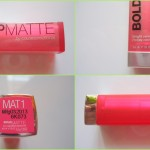 Maybelline BOLD Matte Lipstick in the shade MAT 1