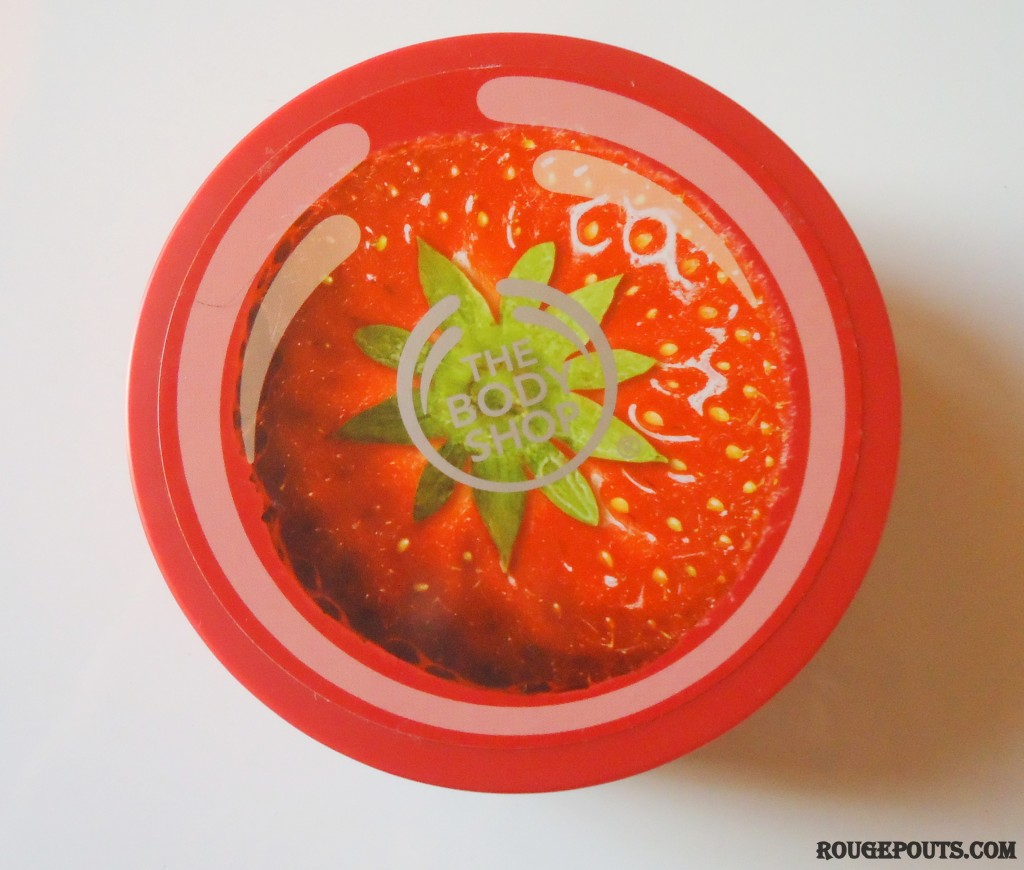 The Body Shop Strawberry Body Butter Review!!