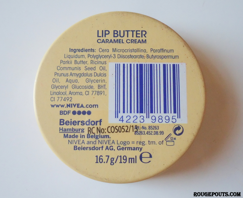 Nivea Lip Butter in Caramel Cream Review!!