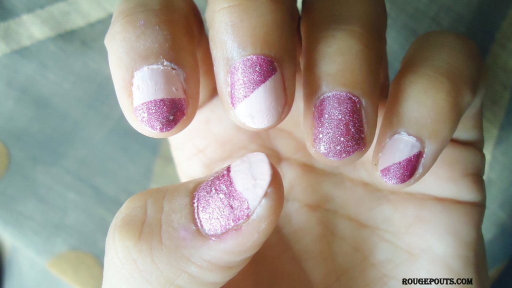 Today on Nails! - Maybelline Color Show Glitter Mania in the Shade Matinee Mauve!!