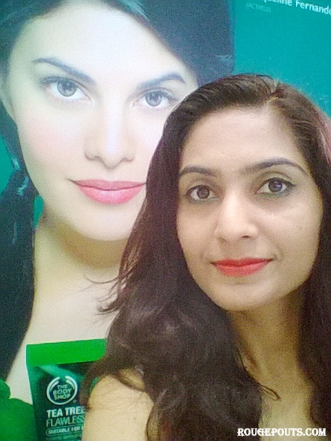 A selfie with Jacqueline after the demo!