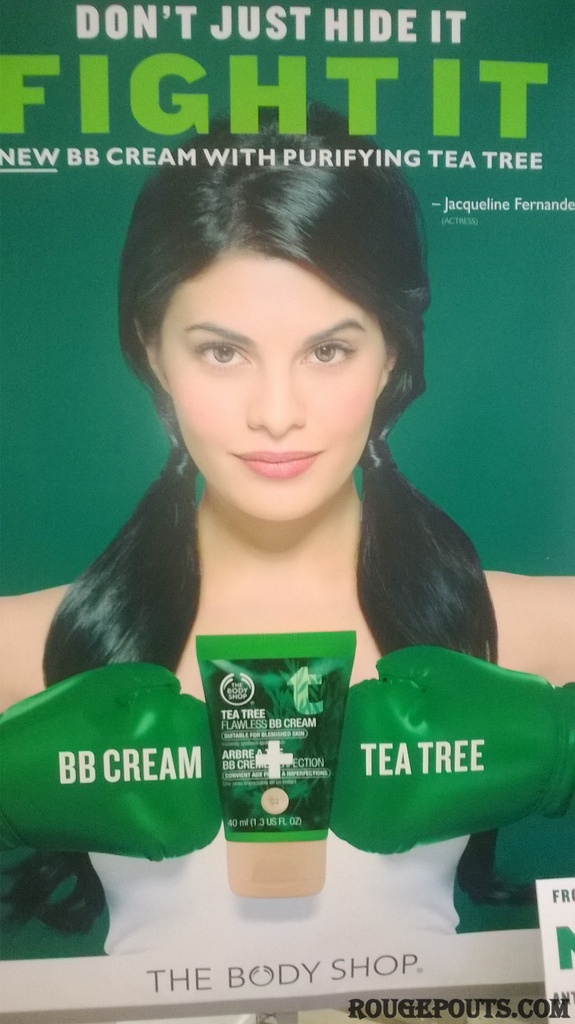 The Body Shop JOIN THE FIGHT -To banish skin problem Event and Launch/Preview of Tea Tree Flawless BB Cream!!