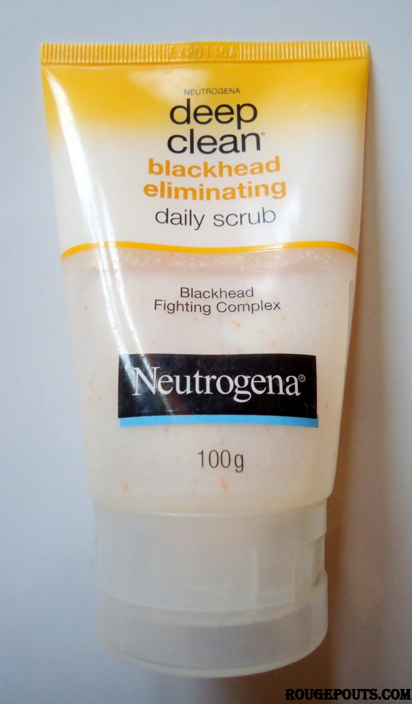 Neutrogena Deep Clean Blackhead Eliminating Daily Scrub Review - RougePouts