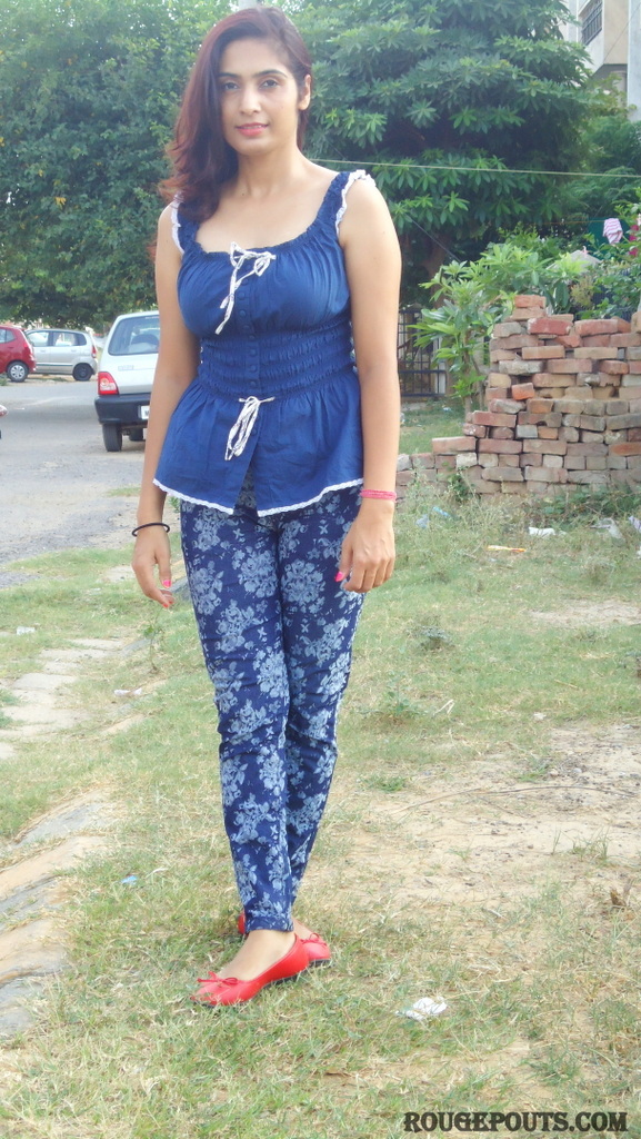Outfit of the Day! Blue Prints!