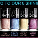 Maybelline Color Show Glitter Mania Nail Paints Review