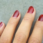 Maybelline Color Show Bright Sparks Nail Paint in the shade Molten Maroon Review