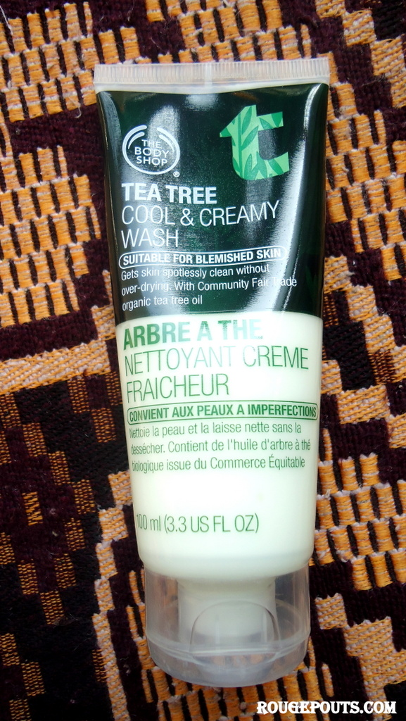 The Body Shop Tea Tree Cool and Creamy Wash Review!!