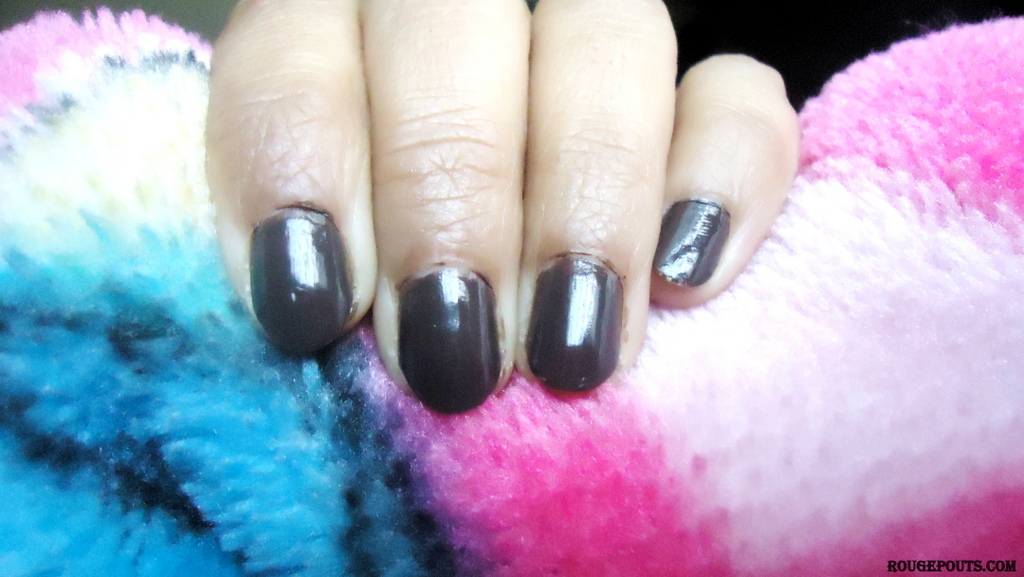Maybelline Color Show Bright Sparks Nail Paint in the shade Firewood Brown (705) Review!!