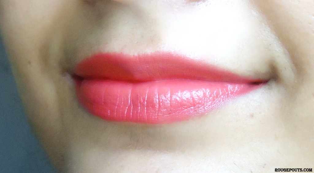 Maybelline Color Show Lipstick in the shade Cherry Crush Review!!
