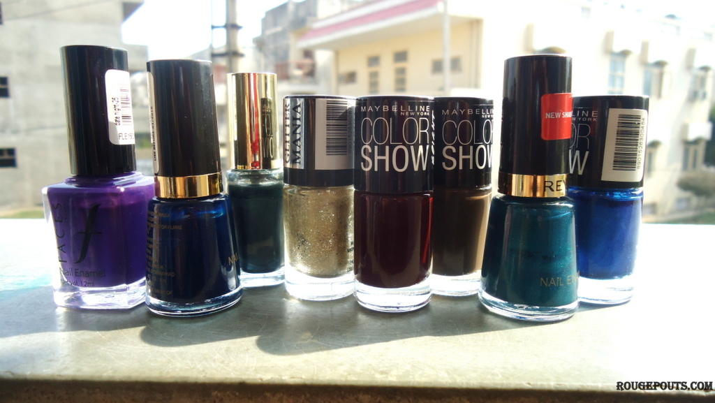 My Top Favorite 8 Fall/Winter Nail Paints!!