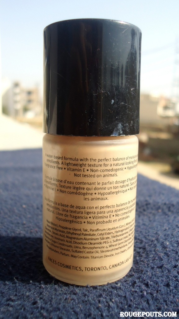 Faces Hydro Balance Liquid Foundation Review Swatches Photos