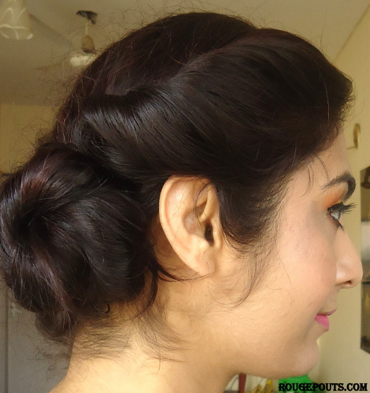 Romantic Messy Side Bun Tutorial