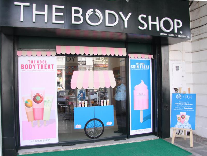 The Body Shop Happy Summers Event|Bloggers Meet