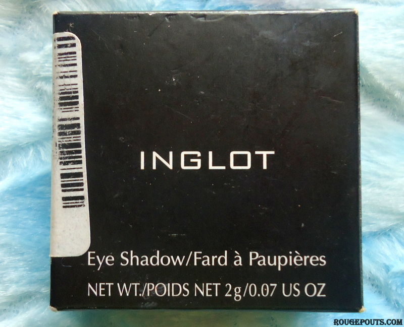 Inglot Eye Shadow 370 Review Swatches Photos