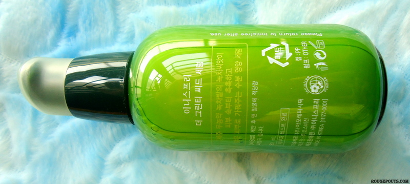 Innisfree The Green Tea Seed Serum|Review|Swatches