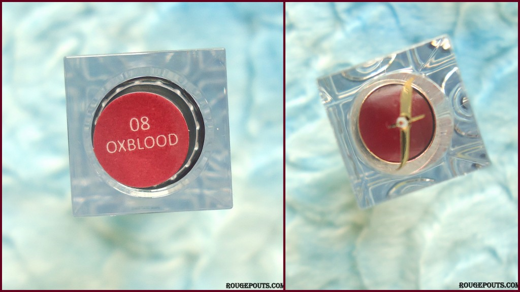 Faces Glam On Color Perfect Lipstick in Oxblood|Review|Swatches