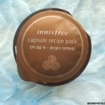 Innisfree Capsule Recipe Pack Jeju Volcano Review|Swatches