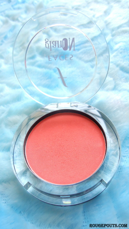 Faces Glam On Perfect Blush Coral Pink|Review|Swatches