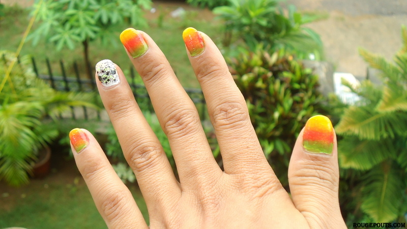 DIY Nail Art|Shades of Summer