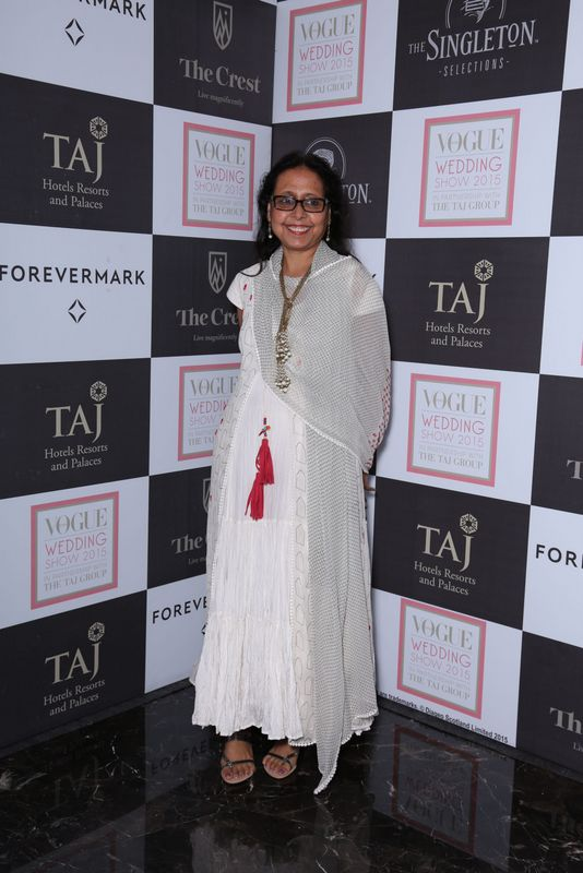 Anju Modi at Day 1 of the Vogue Wedding Show 2015 at Taj Palace,, New Delhi - Copy