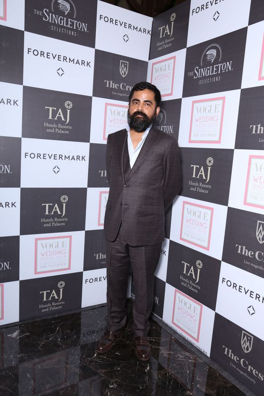 Sabyasachi at Day 1 of the Vogue Wedding Show 2015 at Taj Palace, New Delhi