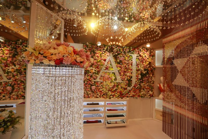Swarovski at Vogue Wedding Show 2015 at Taj Palace, New Delhi - Copy