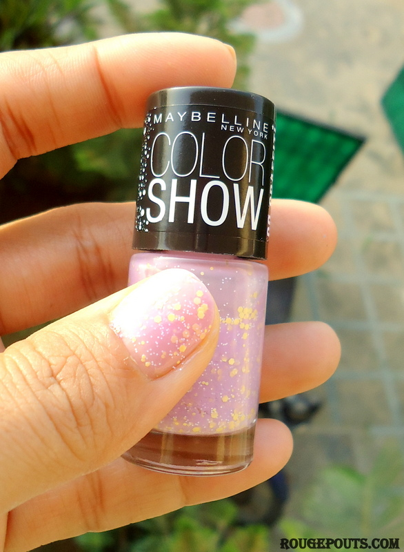 Maybelline Color Show Go Graffiti Nail Paint in Lucky Lavender