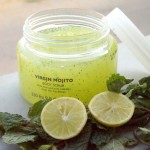 Limited Edition The Body Shop Virgin Mojito Body Scrub Review