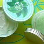 The Body Shop Fuji Green Tea Body Butter and Body Scrub Review