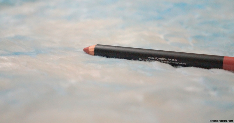 Sigma Lip Base in Indulgent Review and Swatches