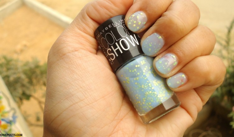 Maybelline Color Show Go Graffiti Nail Paint In Blueberry Bombshell