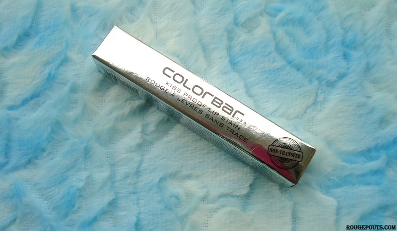 Colorbar Kiss Proof Lip Stain Haute Latte Review and Swatches