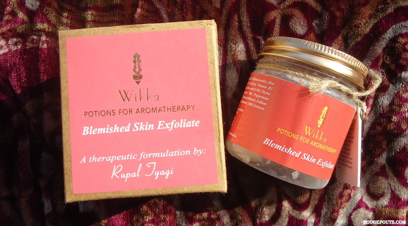 Wikka Blemished Skin Exfoliate Review and Swatch