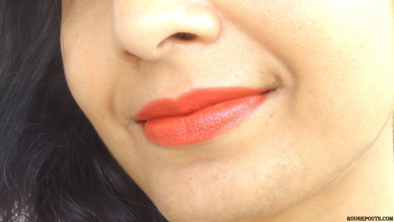Soultree Colour Rich Lipstick in Deep Blush Review and Swatch