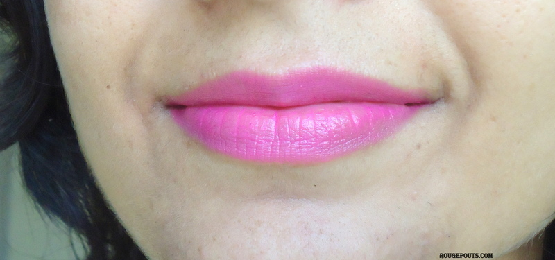 L'Orèal Paris La Vie En Rose Moist Matte Lipstick in Doutzen Review Swatches