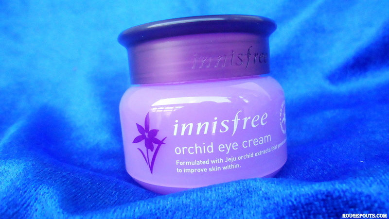 Innisfree Orchid Eye Cream Review and Swatch
