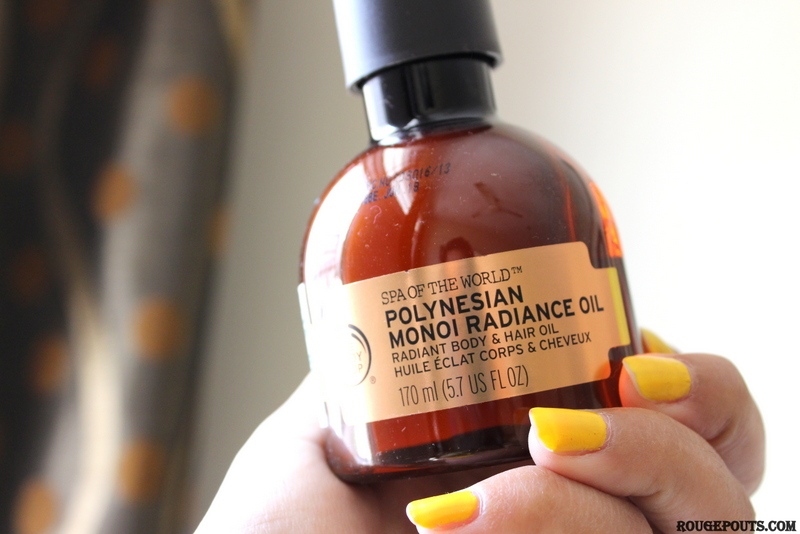 The Body Shop Spa of the World Polynesian Monoi Radiance Oil Review