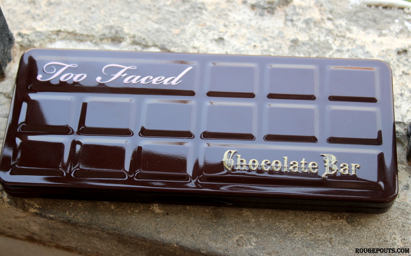 Too Faced Chocolate Bar Eyeshadow Palette Review and Swacthes