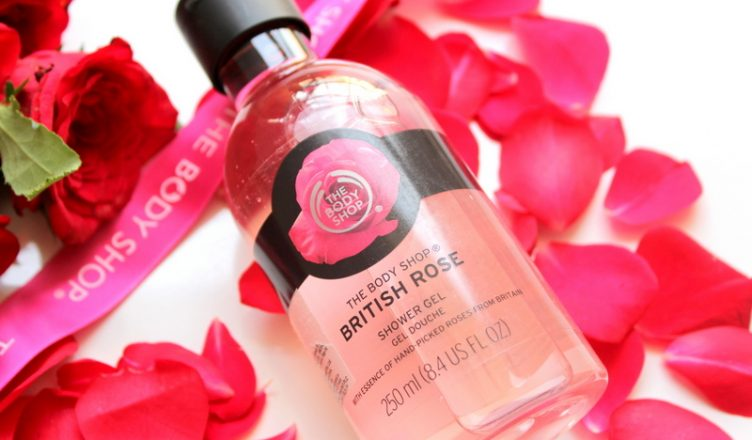 The Body Shop British Rose Shower Gel Review and Swatch - RougePouts