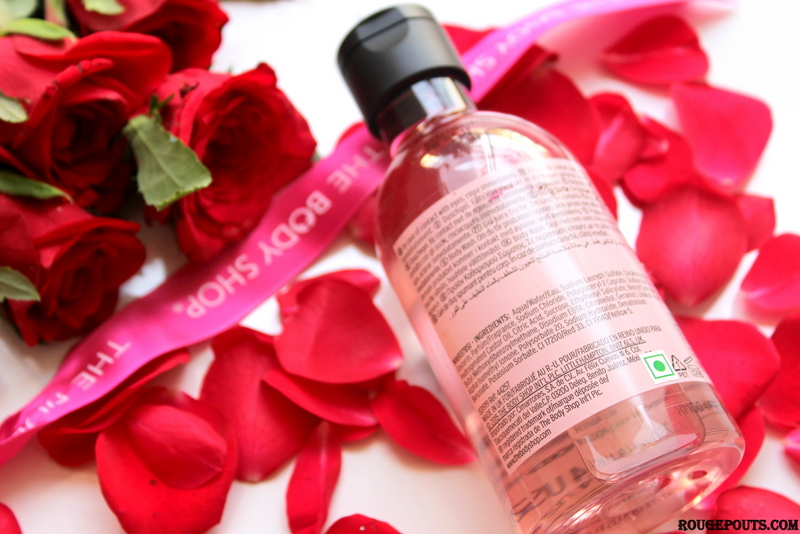 The Body Shop British Rose Shower Gel Review and Swatch