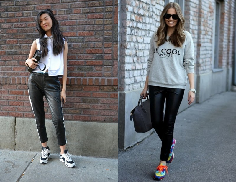 Sporty Look! Image Source - Left - thefashiontag.com and Right - woylaa.com